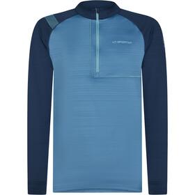 La Sportiva Planet Maglietta A Maniche Lunghe Uomo, blu